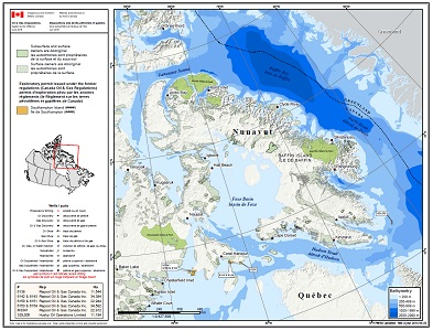 Eastern Arctic Disposition Map