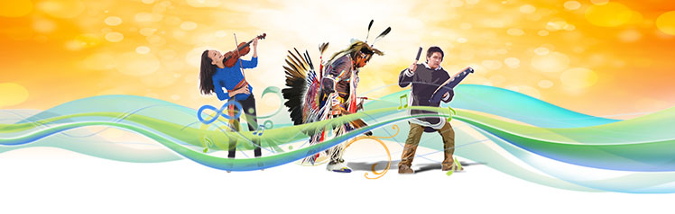 The National Indigenous Peoples Day banner, free from the Government of Canada website
